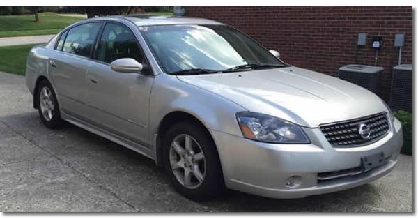 2005 Nissan Altima Code P0420
